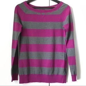 gap kids horizontal stripe long sleeve sweater